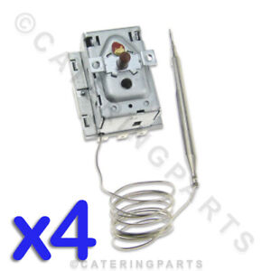 4 x TS04 & 4 x TS41 UNIVERSAL EGO THERMOSTATS SAFETY & HIGH LIMIT GSP