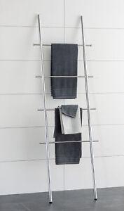 WENKO Handtuchleiter Handtuchhalter Badetuchhalter Badmöbel  Bad Kleiderhalter
