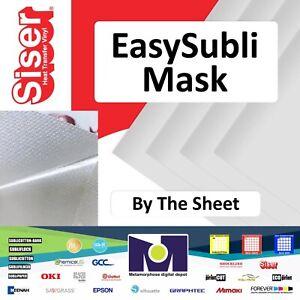 "Siser EasySubli™ Mask 8""x10"" - 10 SHEETS Free Delivery"