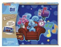 """Nickelodeon""""s  Blue's Clues Wood Puzzle Pack & You 5 Pack Wood Puzzle w/Storage"""