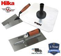 Hilka Steel Plastering Trowel & Aluminium Hawk, Plasterer Tools Discounted Sets