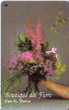 Schede telefoniche rare- private - Boutique del fiore n°237 NUOVA