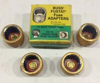 SA20 Buss Fustat Fuse Adapter Fit In Edison Base Fuse Holder for 20 Amp Fustats