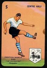 RARE Football Playing Card - Preston North End 1964-5