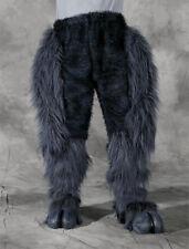 Legs & Hooves Gray Hairy Pants & Feet Devil Faun Adult Zagone Halloween Costume