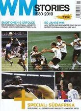 80 Jahre spannende WM Geschichte + 1930 bis 2010 + NEU + Sondermagazin Sammler +