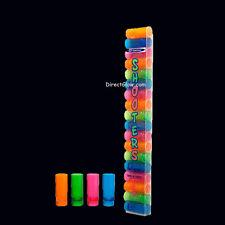 Neon Blacklight Reactive 2oz Shot Glass Dispenser 18ct