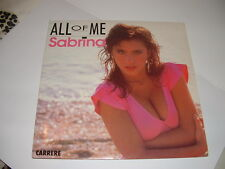 "SABRINA SALERNO "" ALL OF ME""  FRANCE'88"