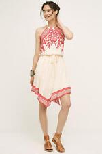 NWOT Anthropologie Floreat Amaranthine Halter Dress Sz Small
