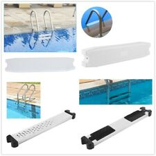 Swimming Pool Anti-Slip Ladder Step Stair Replacement Pedal Rung Accessory White