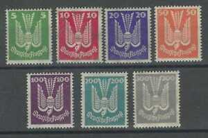 Germany 1924 Airmail set of 7 mint never hinged