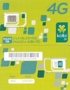 COSTA RICA.KOLBI, MOBILE SIM CARD MINT UNUSED,//FOR COLLECTORS ONLY///