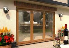 CLIMADOOR Supreme Solid Oak External Bifolding Door System - Fully Finished