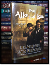 The Alloy of Law ✎SIGNED✎ by BRANDON SANDERSON New Collectible Mistborn Hardback