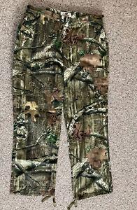 Men's / Unisex Mossy Oak Camo Hunting Pants  L