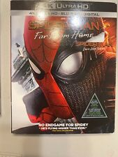 SPIDERMAN FAR FROM HOME 4K ULTRA HD,BLURAY,DIGITAL WITH SLIPCOVER BRAND NEW