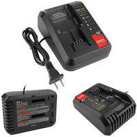 2A LED Charger for Black Decker Porter Cable Stanley 10.8V-20V Lithium Battery
