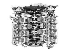 2009 JAGUAR XF ENGINE CUTAWAY POSTER PRINT 27x36 HI RES
