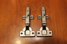 GRASS Tiomos Full Overlay Frameless Soft Close Cabinet Hinge w/plate (pair)