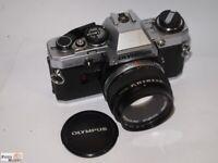 Olympus OM10 SLR Kamera + Zuiko Objektiv 1,8/50mm  Ø 49mm Spiegelreflexkamera