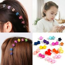 30Pcs Girls Kids Mini Small Flower Hair Claws Clips Clamps Hair Pin Accessories