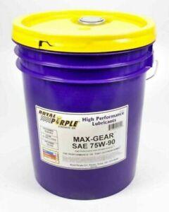 Royal Purple Synthetic Max Gear Lube 75W90 5 gal 05300 Pail Bucket