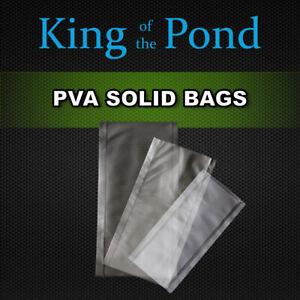 pva solid bags x25 bags - carp fishing, carp rigs, carp tackle