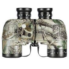 BNISE Military HD Waterproof Binoculars with Compass & Rangefinder - 10x50 lens