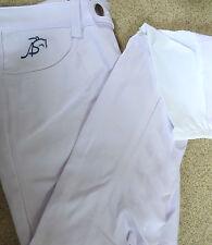 Anna Scarpati Breeches Super grip white UK12