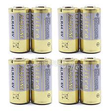 8 pcs 28A 6V 4LR44 4NZ13 4G13 V34PX L1325 Alkaline Battery Cell For Remote Alarm