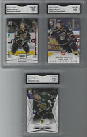 MITCH MARNER 3 CARD ROOKIE LOT WEARING CHL JERSEY GRADED GEM MINT 10 MAPLE LEAFS