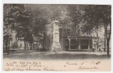 Public Park Niles Ohio 1905 postcard