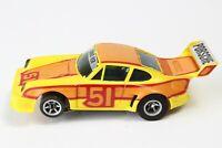 VINTAGE AFX AURORA Porsche 934 Turbo RSR SLOT CAR HO CAR RACING YELLOW