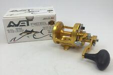 Avet MXL 6/4 Raptor 2-Speed Lever Drag Casting Reel (Gold)