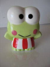 Sanrio Keroppi Coin Bank Sitting (S) Collectible Vintage 1988/1990 New In Box