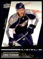 2009-10 Upper Deck Cody Franson RC #475
