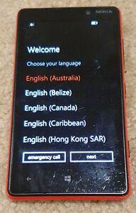 "Microsoft Nokia LUMIA red 820 4.3"" 4G LTE - Used"
