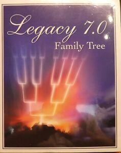 GENEALOGY PROGRAM LEGACY FAMILY TREE 7.0, SEALED
