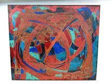 TOM TAYLOR ORIGINAL Portland Oregon 2004 Abstract Modern Acrylic Painting-HUGE!!