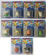 10X Rare Vintage Digimon Mini Wind Up Figures Ko Patamon Gatomon New Sealed !