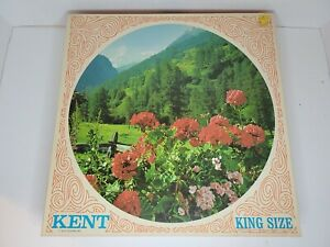 Vintage Kent King Size  Puzzle Round Nearly 1000 Pieces MB 3 red Geraniums