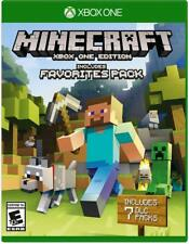 Minecraft Favorites Pack [Microsoft Xbox ONE Mojang Sandbox 7 DLC Included] NEW
