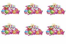 Shopkins Edible Party Image Cupcake Topper Frosting Icing Sheet Circles