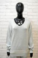 Maglione PIERRE CARDIN Donna Taglia 52 Pullover Cardigan Sweater Woman Lino