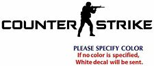"Counter Strike #2 Graphic Die Cut decal sticker Car Truck Boat  window 8"""