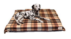 Kosipet Foam & Pocket Sprung Dog Bed with Additional FREE Spare cover 19 Colours
