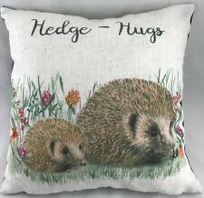 """Remplis de Evans Lichfield Woodland Hérisson Hedge-Hugs 17/"""" 43 cm coussin"""