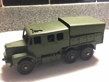 Dinky Toys #689 Medium Artillery Tractor Truck With Driver Repainted