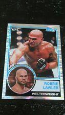 2018 TOPPS UFC CHROME 1983 ROBBIE LAWLER PULSAR REFRACTOR INSERT 18/50