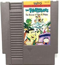 VINTAGE 1991 NINTENDO THE FLINTSTONES RESCUE OF DINO & HOPPY NES GAME CARTRIDGE